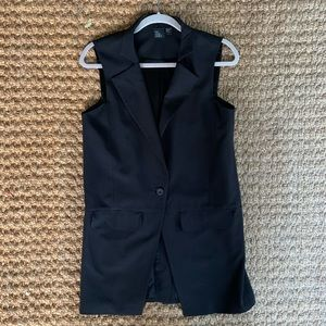 Eileen Fisher / The Fisher Project Black Vest